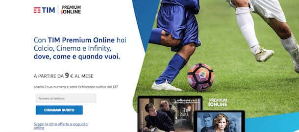 Premium on line come funziona
