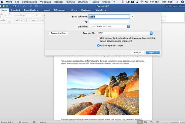 Come convertire un file PDF in Word