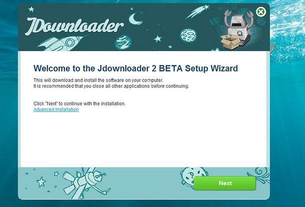 Come installare JDownloader