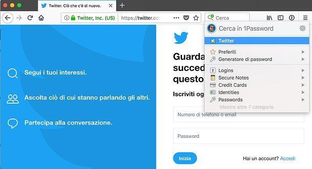 1Password per Firefox