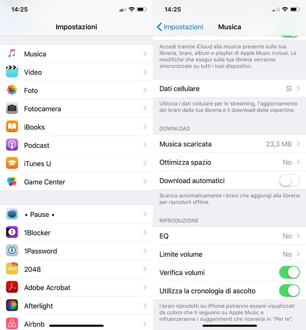 Come normalizzare volume iOS