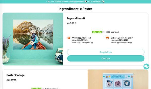 Come creare poster con PhotoSì