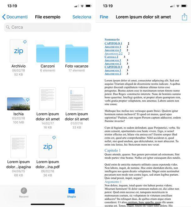 File iOS