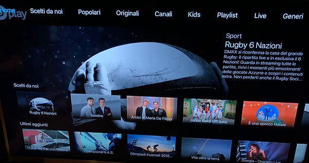 Come vedere Dplay su Apple TV