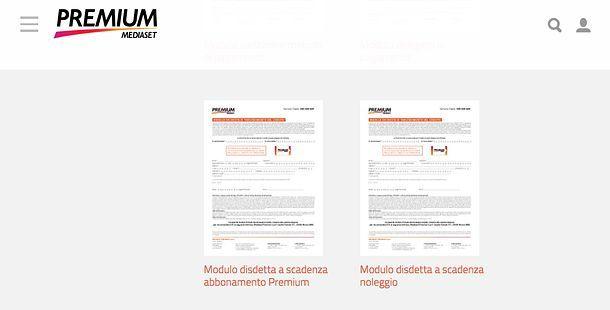 Come disdire Mediaset Premium