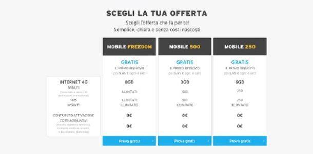 Come provare il Mobile 4G di Fastweb