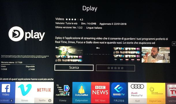 Come vedere Dplay su Smart TV Samsung