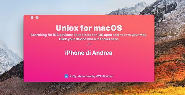 Unlox Mac