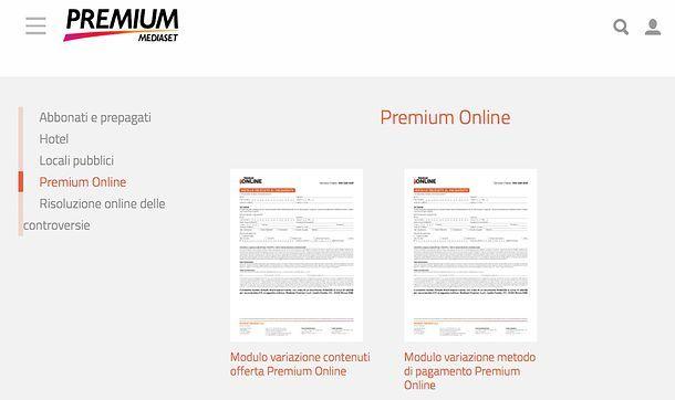 Disdetta Premium