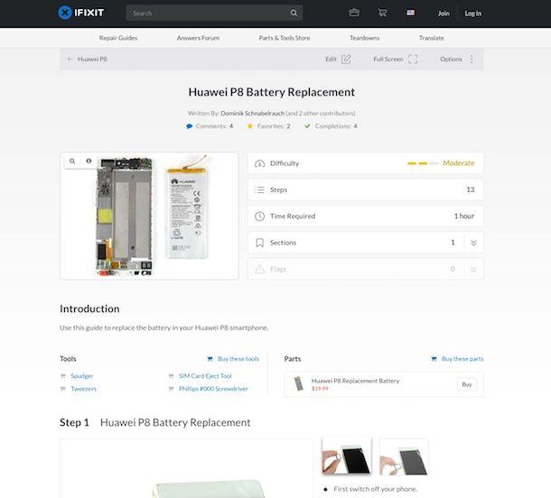 Come aprire Huawei