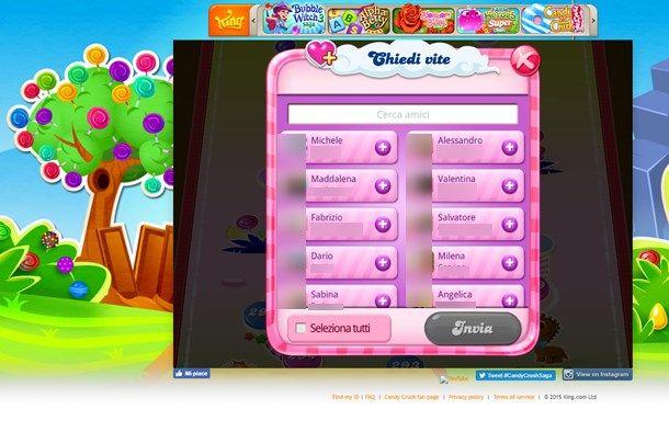 Controllare app e giochi