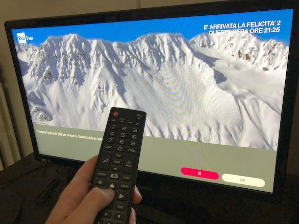 Come sintonizzare canali TV LG