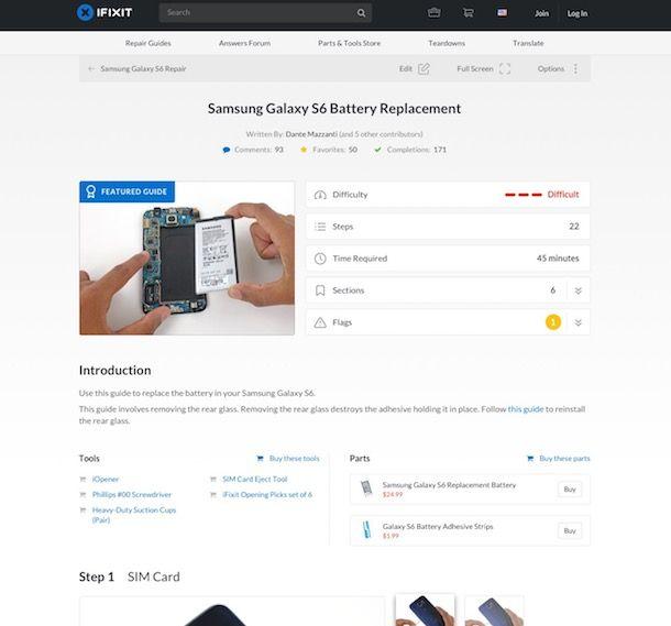 Come aprire Samsung
