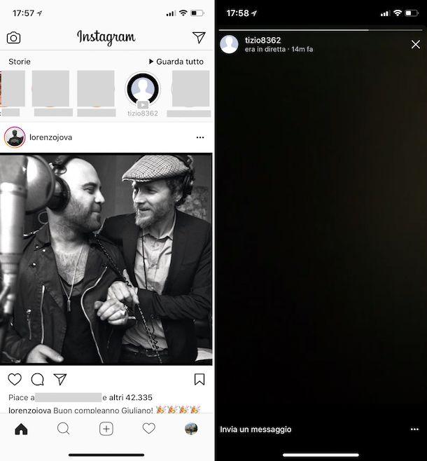 Come vedere le dirette su Instagram
