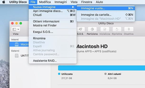 Come mettere la password ad una chiavetta USB su Mac