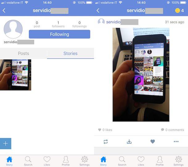 storie instagram senza notifica