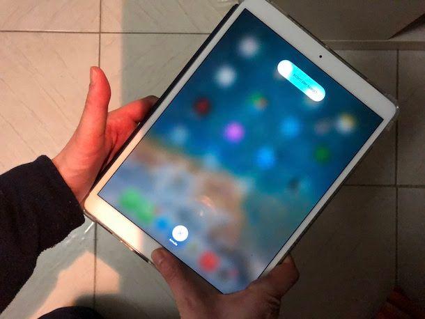 Come sbloccare iPad bloccato