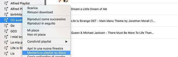 Come convertire MP3 in CD audio in iTunes