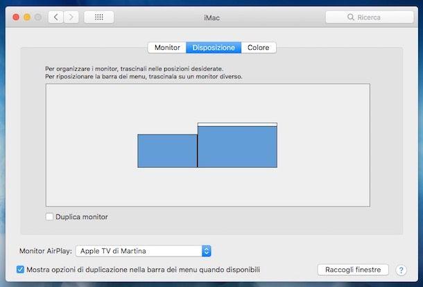 Come collegare il Mac alla TV senza fili