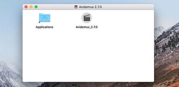 Avidemux Mac