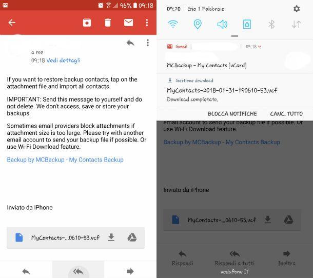 iphone X copiare rubrica su sim