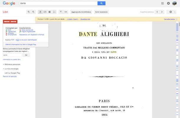 Come scaricare libri da Google Books gratis