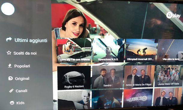 Come vedere Dplay su Smart TV Android