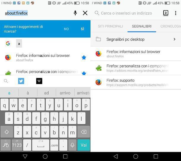 Come trovare i preferiti su Firefox per Android