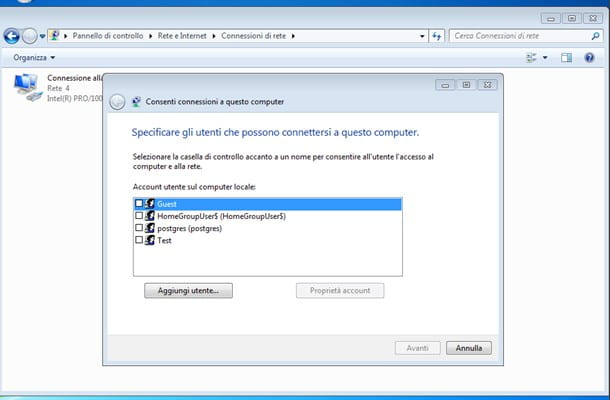 Come creare una VPN su Windows