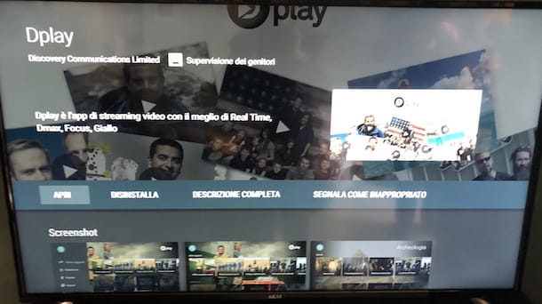 come scaricare app mediaset play su smart tv sony
