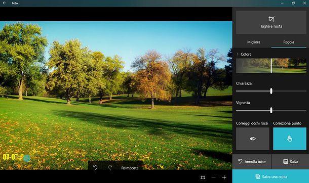 Foto Windows 10