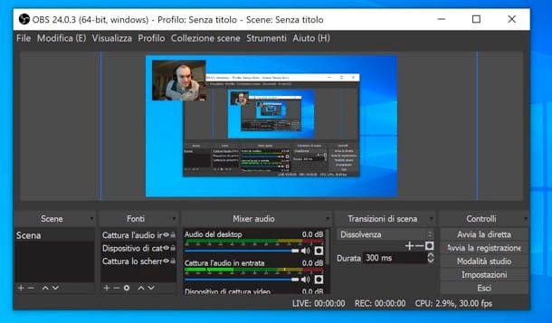 registrare audio e video su PC