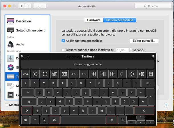 Come sbloccare la tastiera del Mac