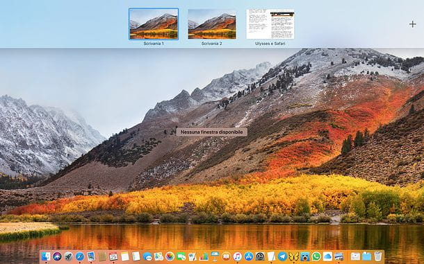 Scrivanie virtuali Mac