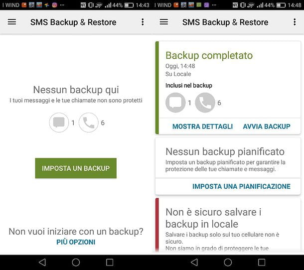 Come recuperare SMS cancellati Android