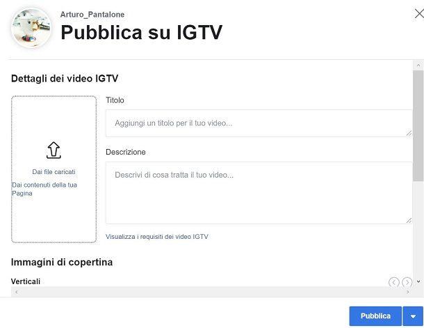 IGTV Creator Studio IG