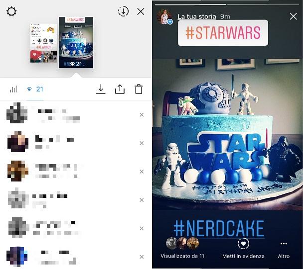 Vedere chi guarda le tue storie di Instagram