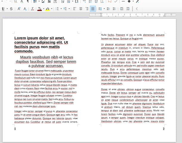 Come impaginare un libro con LibreOffice