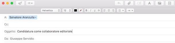 Come scrivere l'oggetto di una email formale