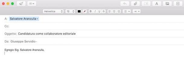 Come introdurre una email formale