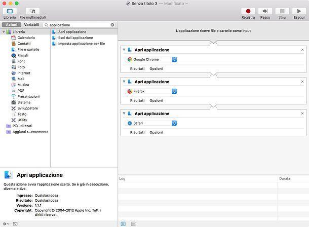 Come aprire più programmi insieme Mac