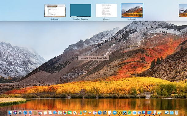 Come creare desktop virtuali su Mac