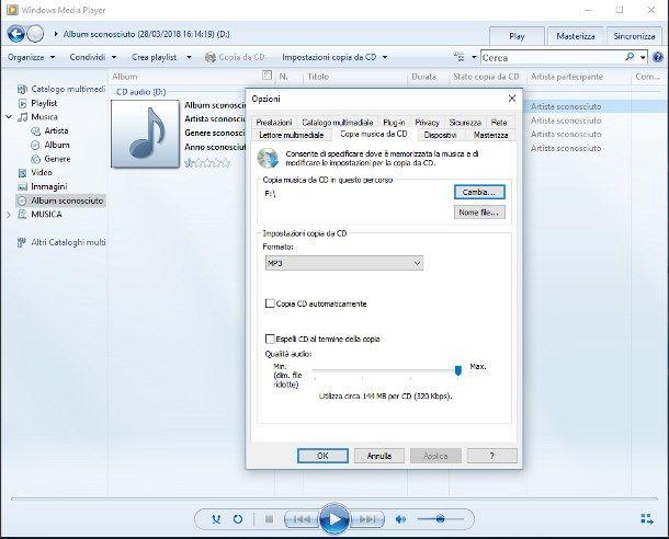Come copiare un CD audio su chiavetta USB | Salvatore Aranzulla
