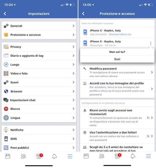 Come risultare offline su Facebook dal cellulare