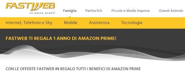 Come avere Amazon Prime gratis per un anno