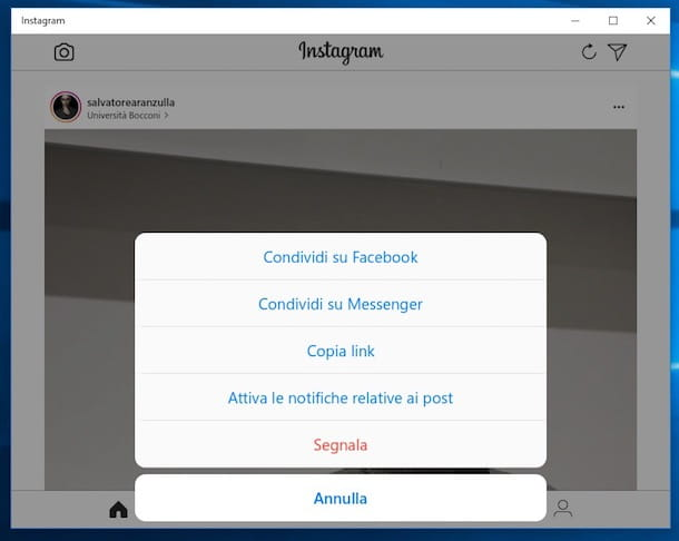 Come scollegare Instagram da Facebook