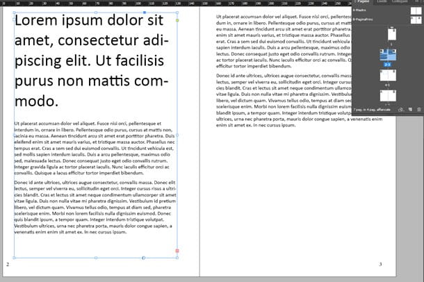 Come impaginare un libro con InDesign