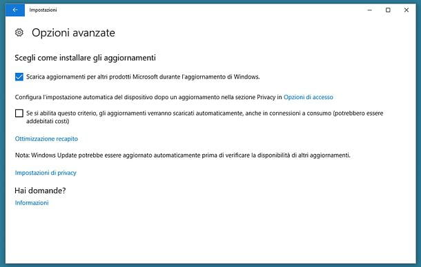 Come aggiornare Windows