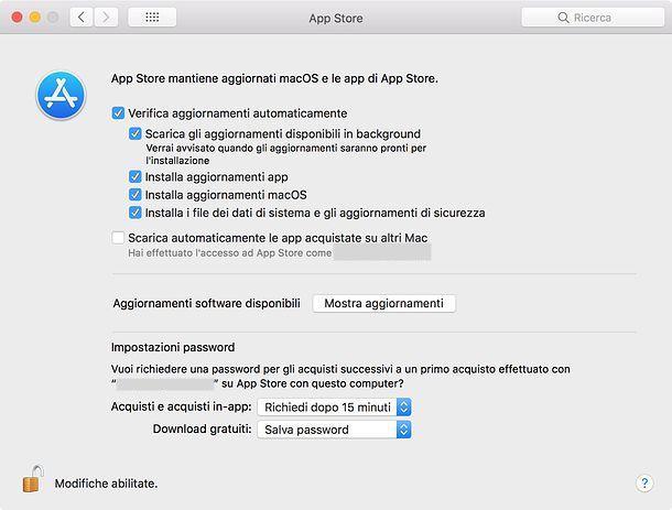 Come aggiornare programmi Mac