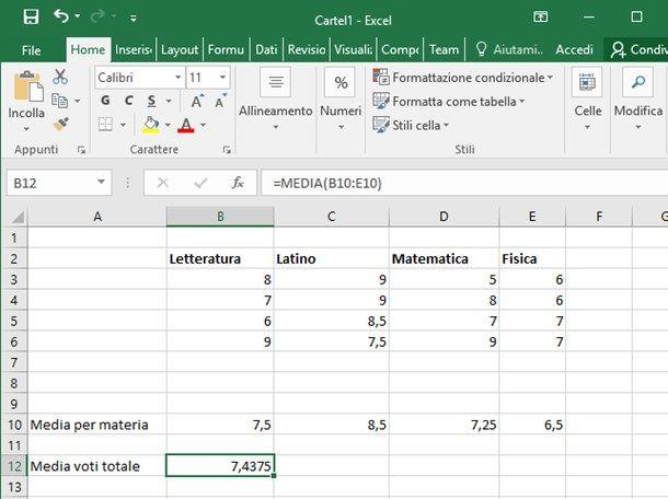 4 Modi per Calcolare la Media con Excel - wikiHow